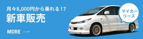 月々8,000円から乗れる!? 新車販売