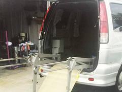 車椅子リフト 半自動折りたたみタイプ